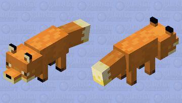 Lush Fox Minecraft Mob Skin