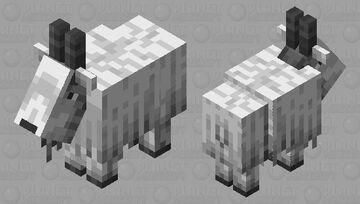 80's Goat Minecraft Mob Skin