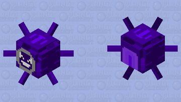 cloyster pokemon Minecraft Mob Skin