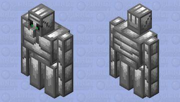 The Iron Golem (Ver.2) (Retexture) Minecraft Mob Skin