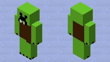 Nether Creeper Minecraft Mob Skin