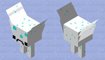 white blob strider Minecraft Mob Skin