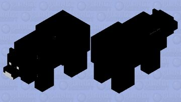 Opposite Bear Minecraft Mob Skin