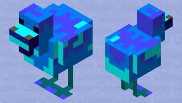frozen chicken Minecraft Mob Skin