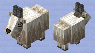 Refract Goat Minecraft Mob Skin