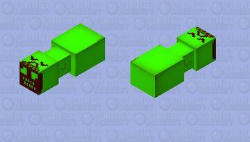 Bridge worm But he pickle Minecraft Mob Skin