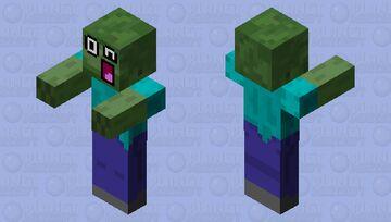 Epic Zombie wtf Minecraft Mob Skin