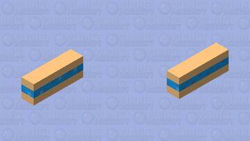 Fish SandWich Minecraft Mob Skin