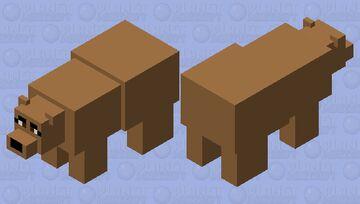 Mr.Bear Minecraft Mob Skin