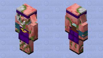 zombie fungus thrower  (minecraft dungeons) Minecraft Mob Skin