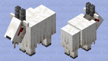 Goat.exe Minecraft Mob Skin