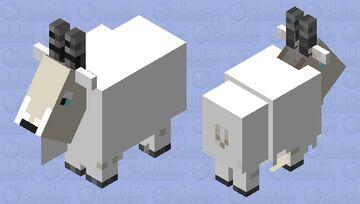 Cute goat Minecraft Mob Skin