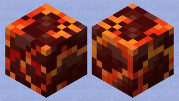 Magma Cube reimagined    -Waltter Minecraft Mob Skin