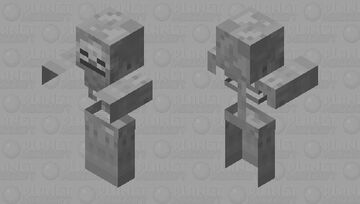 Skeleton Zombie Minecraft Mob Skin