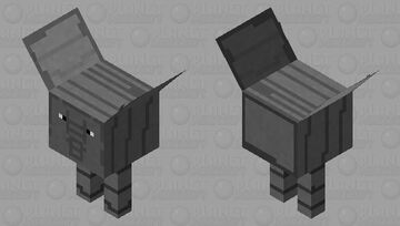 Elephant Strider Minecraft Mob Skin