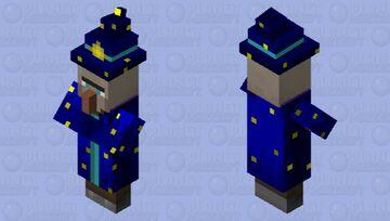 Wizard Minecraft Mob Skin