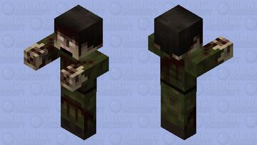 Zombie Military Soldier Minecraft Mob Skin
