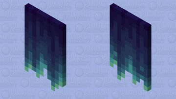 The Frozen Cloak Minecraft Mob Skin