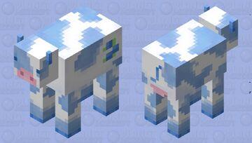 Blueberry Cow Minecraft Mob Skin