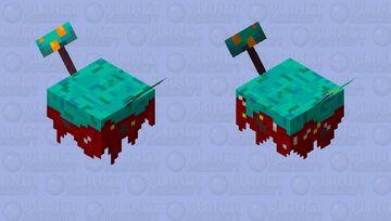 My Floating island. Minecraft Mob Skin
