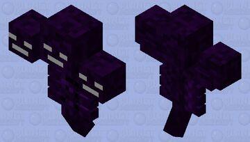 Purple/Black Wither Minecraft Mob Skin