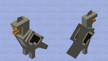 Shoebill Stork Minecraft Mob Skin