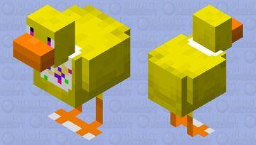 Chica the minecraft chicken Minecraft Mob Skin