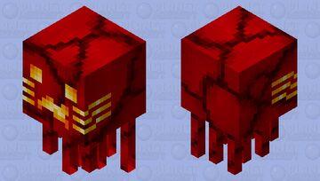 Magma ghast charged Minecraft Mob Skin