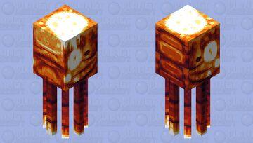 Lava squid || [HD] Minecraft Mob Skin