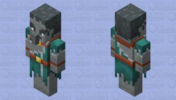 Illager Windcaller / for Minecraft Dungeons / Remade Re-texturing Minecraft Mob Skin