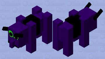 Big Purple Bison Thing Minecraft Mob Skin