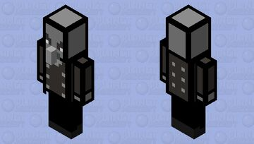 cartoon vindicator Minecraft Mob Skin