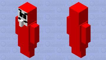 paper house evouker Minecraft Mob Skin