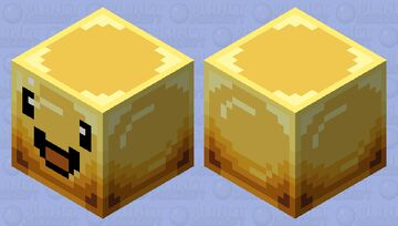 Gold Slime (Remake) Minecraft Mob Skin
