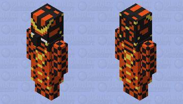 Molten Space Mage Minecraft Mob Skin
