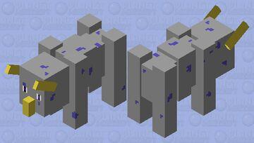 triceratops Minecraft Mob Skin