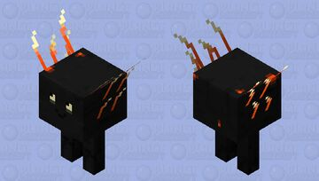 Strider Basalt Delta (Biome Swap) Minecraft Mob Skin