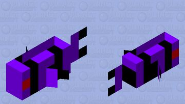 Void Tropical Fish (Small) Minecraft Mob Skin
