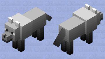 Fade wolf 2 Minecraft Mob Skin