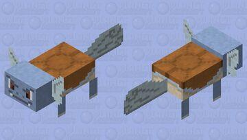 Wartortle - Pokemon Axolotl Replacer Minecraft Mob Skin