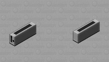 Slim Toaster Cat [British Shorthair] Minecraft Mob Skin
