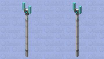 Hades' eternal spear v2 Minecraft Mob Skin