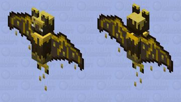 Honey Bat Minecraft Mob Skin