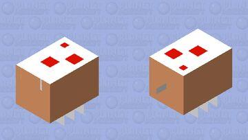 cake bee Minecraft Mob Skin