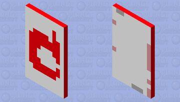 red mojang cap Minecraft Mob Skin