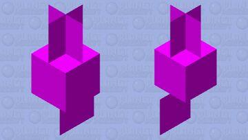 purple gang Minecraft Mob Skin