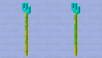 Silly trident 🔱 Minecraft Mob Skin