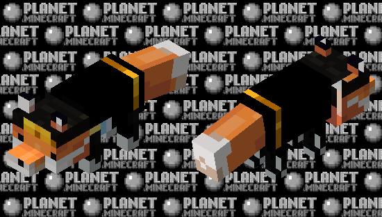 Fundy fox Minecraft Skin