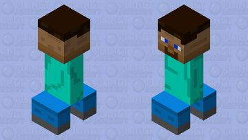 Steve with no arms Minecraft Mob Skin