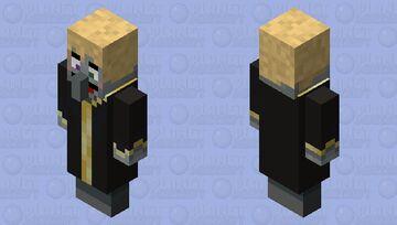 Happy Evoker Minecraft Mob Skin